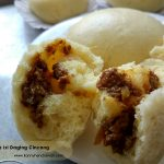 Membuat Bakpao Isi Daging Cincang