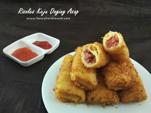Resep Risoles Keju Daging Asap