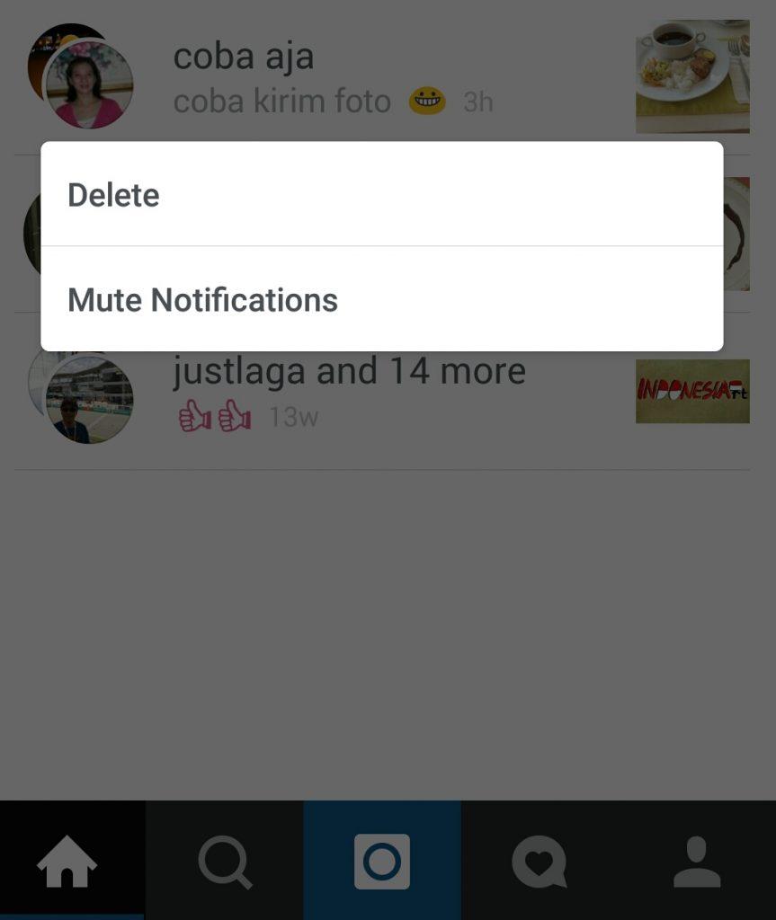 cara membuat chat grup di instagram
